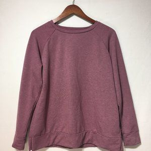32 Degrees Purple Pull Over Sweater